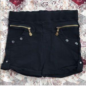 Pants - Stretchy Black Shorts
